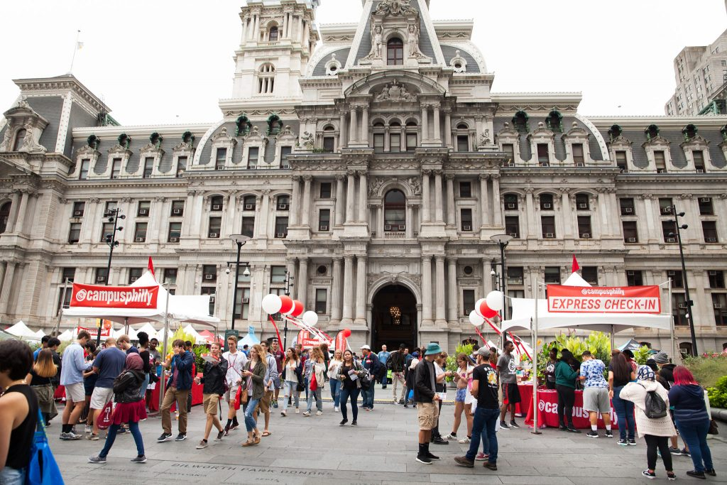 Campus Philly College Fest 2018 at Dilworth Park