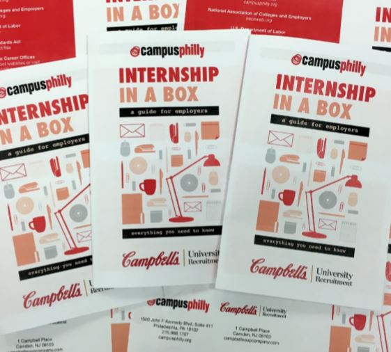 Campus philly's internship in a box guide for employers