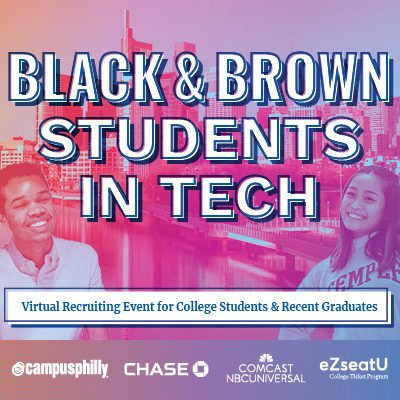 Black and Brown Students in Tech: Virtual Recruiting Event for College Students and Recent Grads