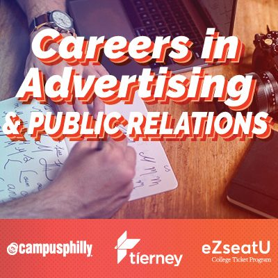 Careers in Advertising and Public Relations, Campus Philly, tierney
